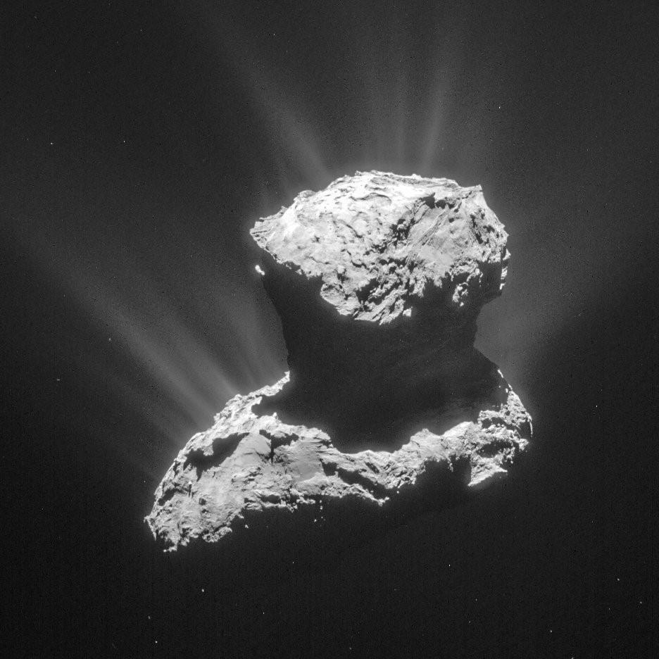 crédits : ESA/Rosetta/NAVCAM – CC BY-SA IGO 3.0
