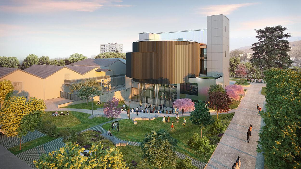 Le futur Centre de sciences de la Métropole grenobloise