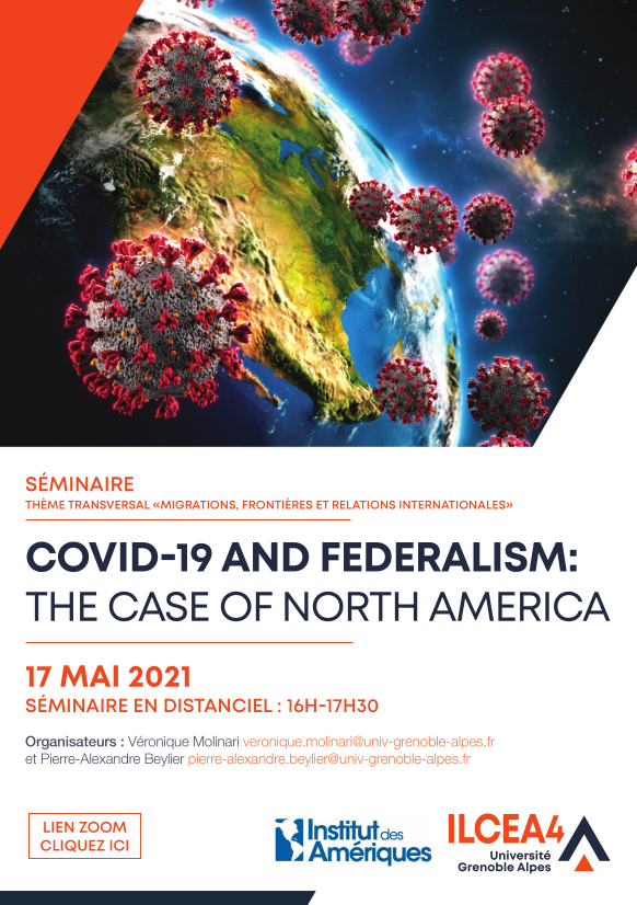Séminaire Covid-19 et fédéralisme : le cas de l'Amérique du Nord