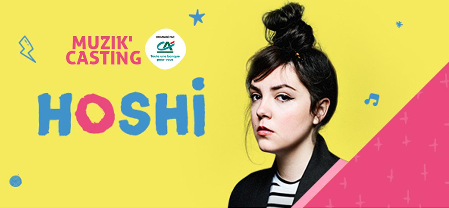Soirée concert Muzik'casting avec Hoshi