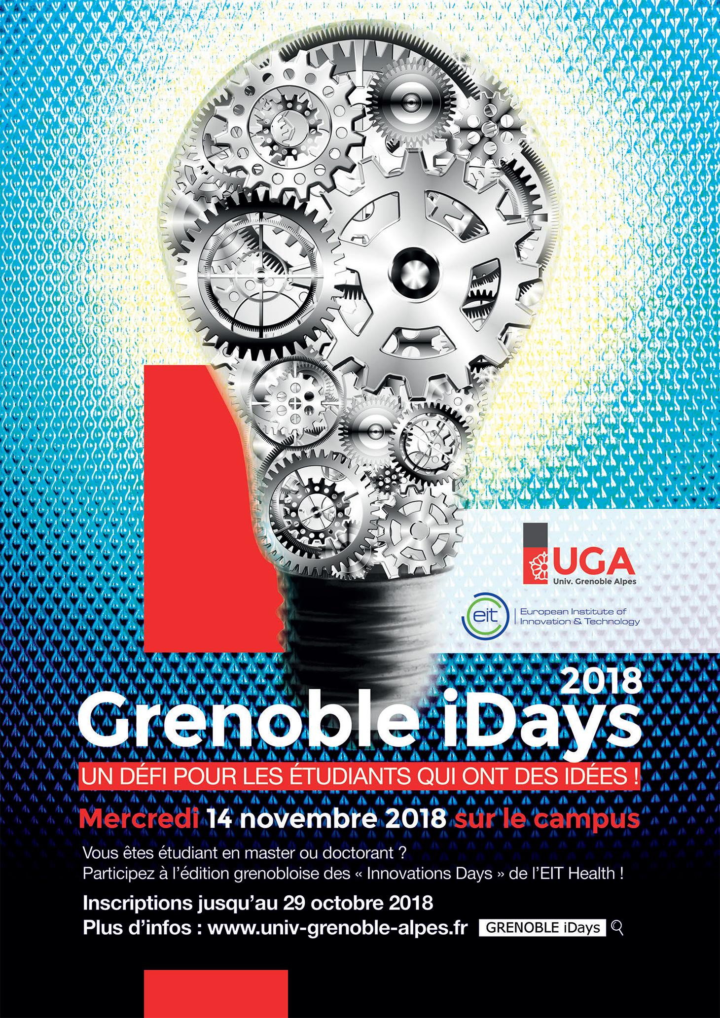 Grenoble iDays - Affiche 2018