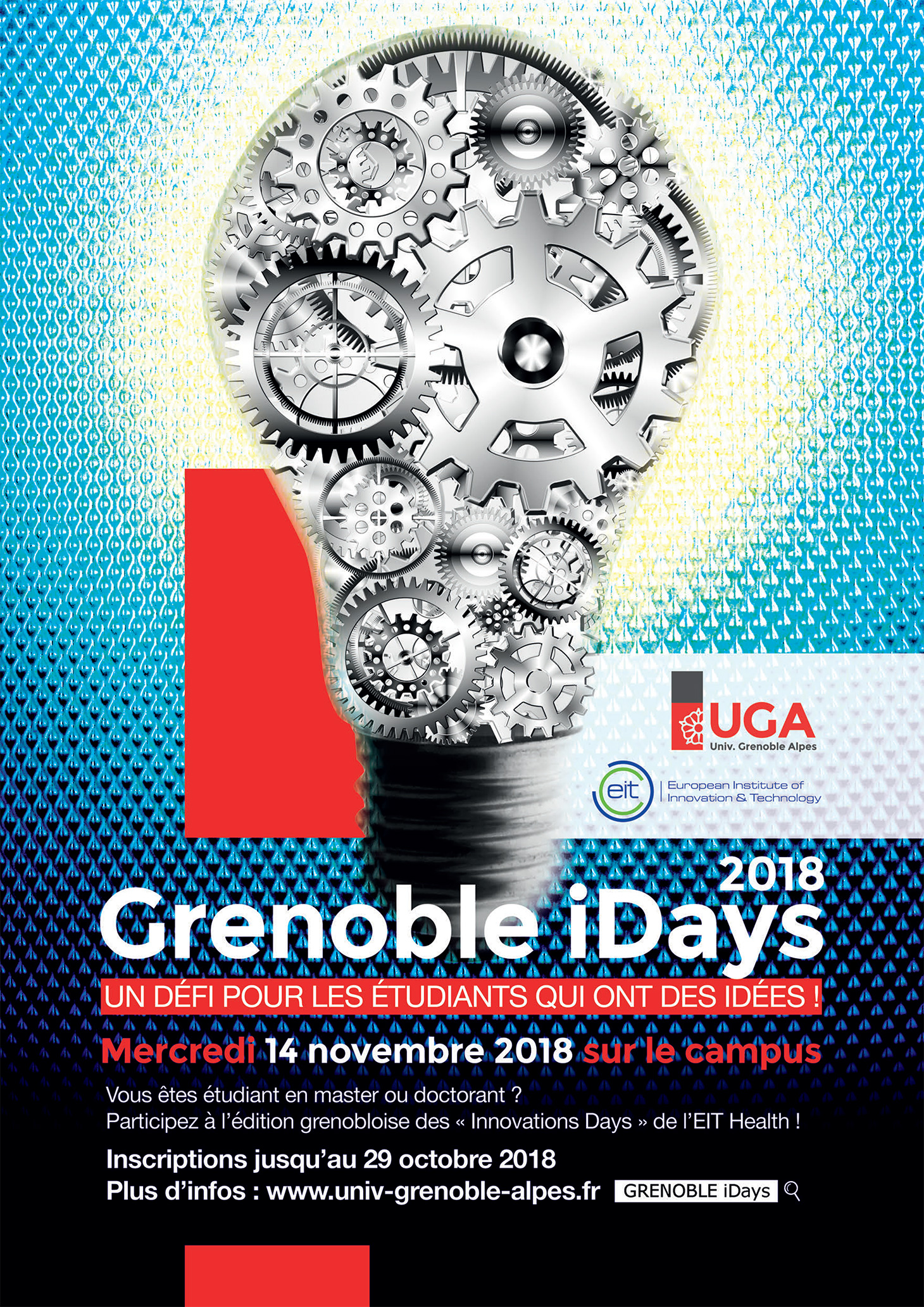 Grenoble iDays - Affiche 2018