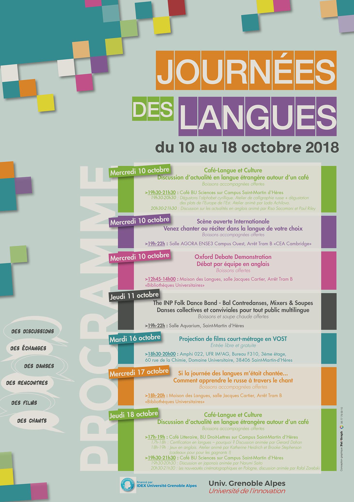 Journées des langues