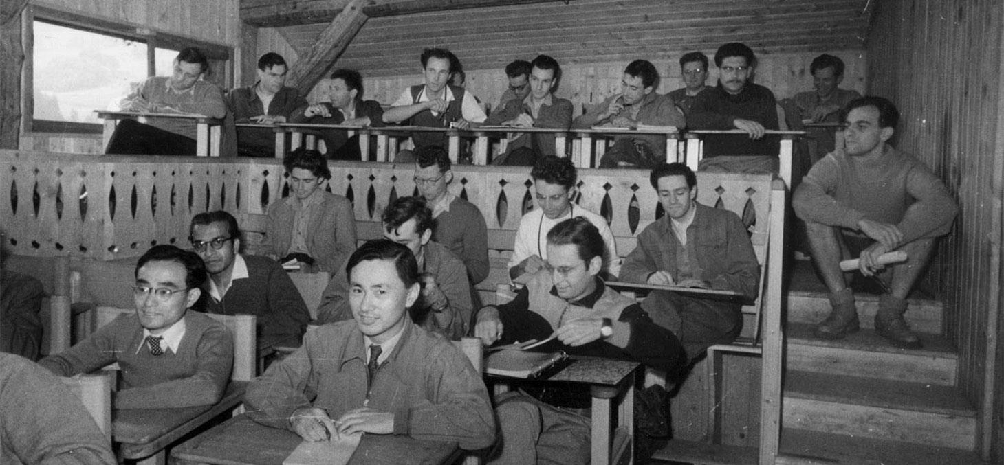 Anciens élèves de l'école des Houches