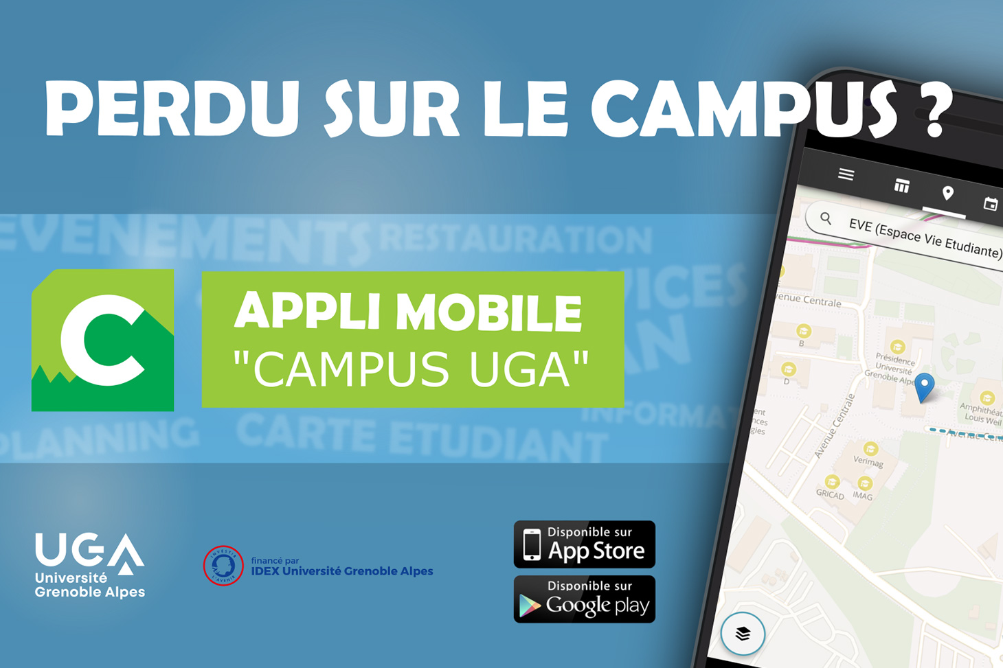 L'application mobile Campus UGA