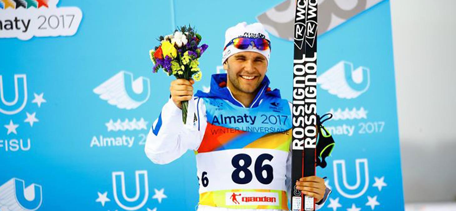 Alexandre Pouyé aux Universiades © almaty2017.com