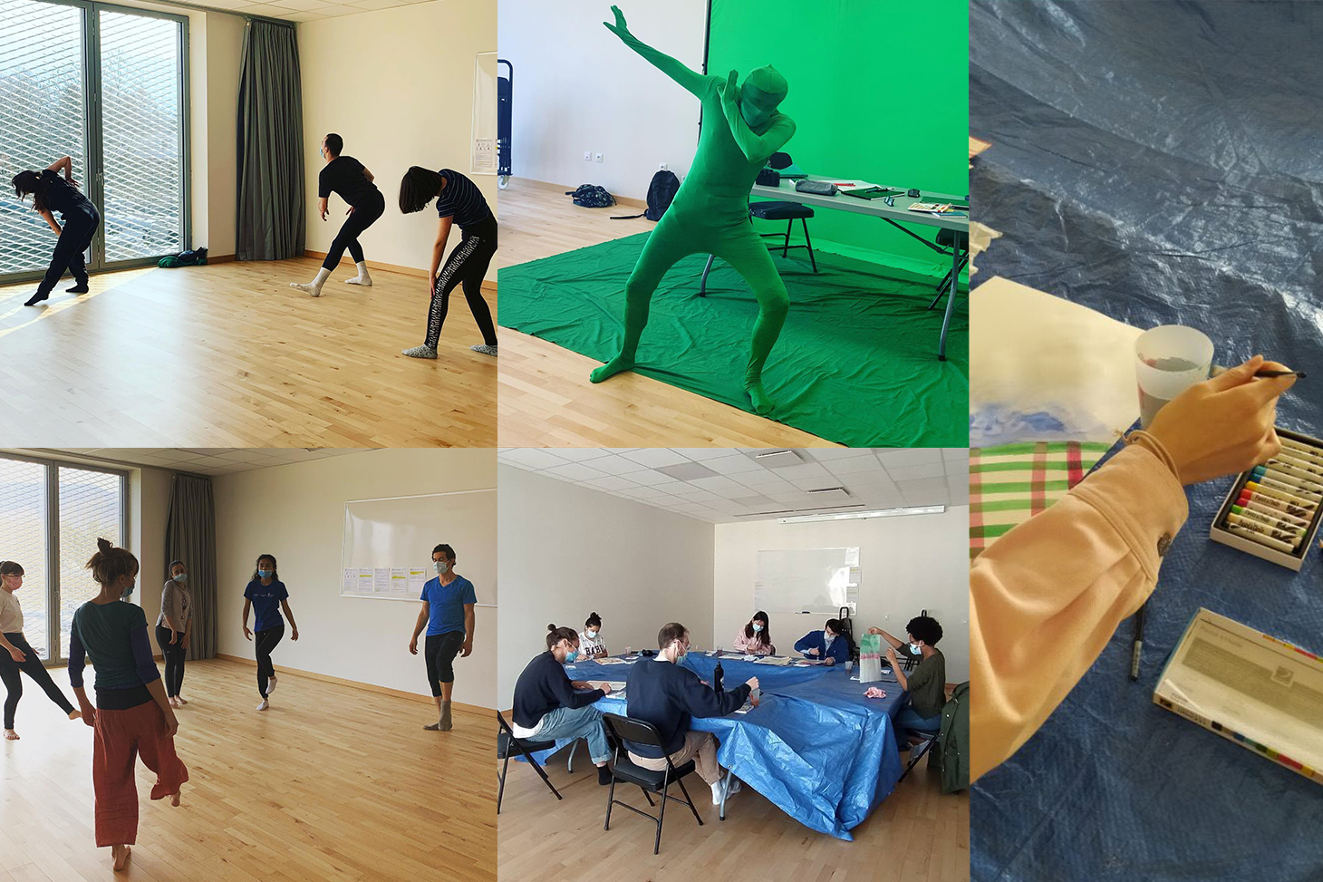 Les ateliers de pratiques artistiques