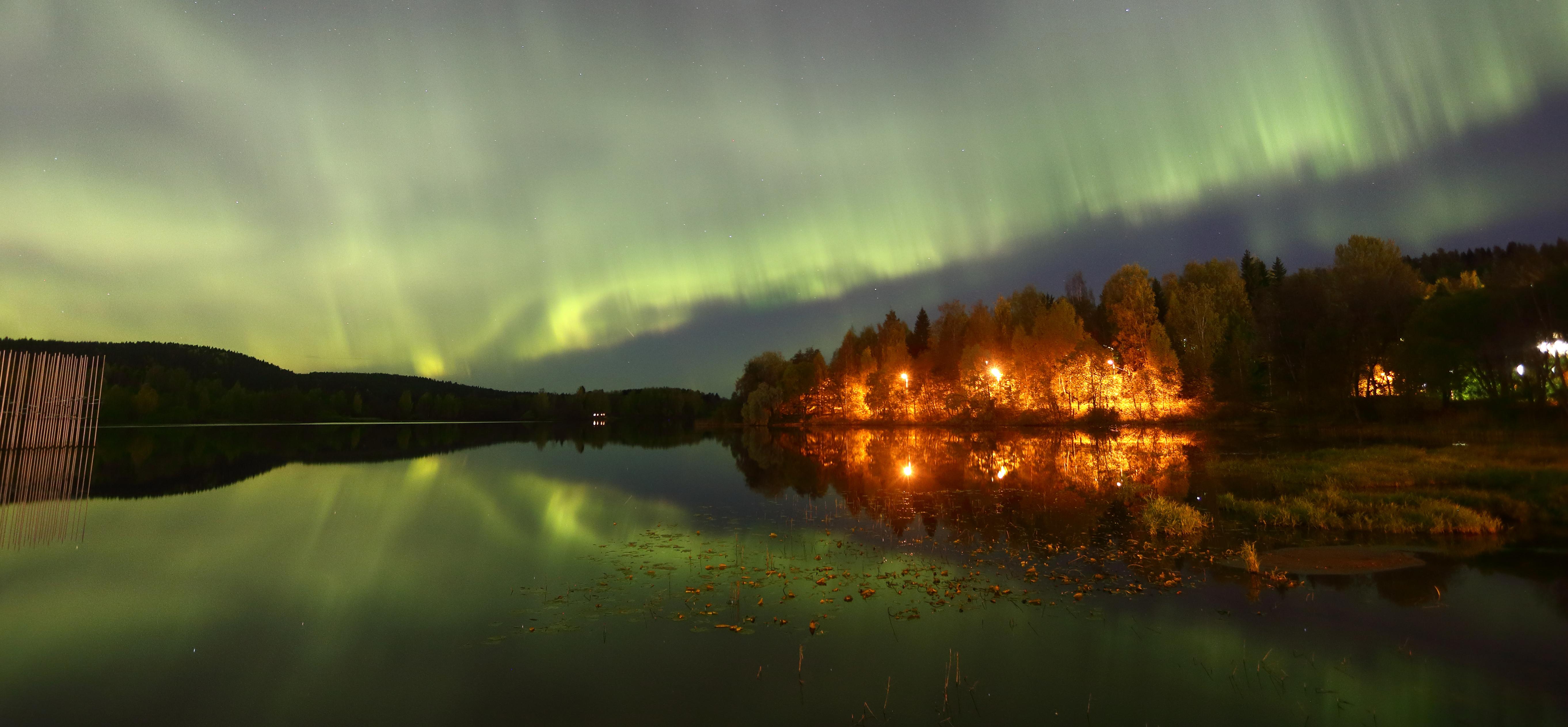A Dream, The Nothern Lights © Gulsum Sahin
