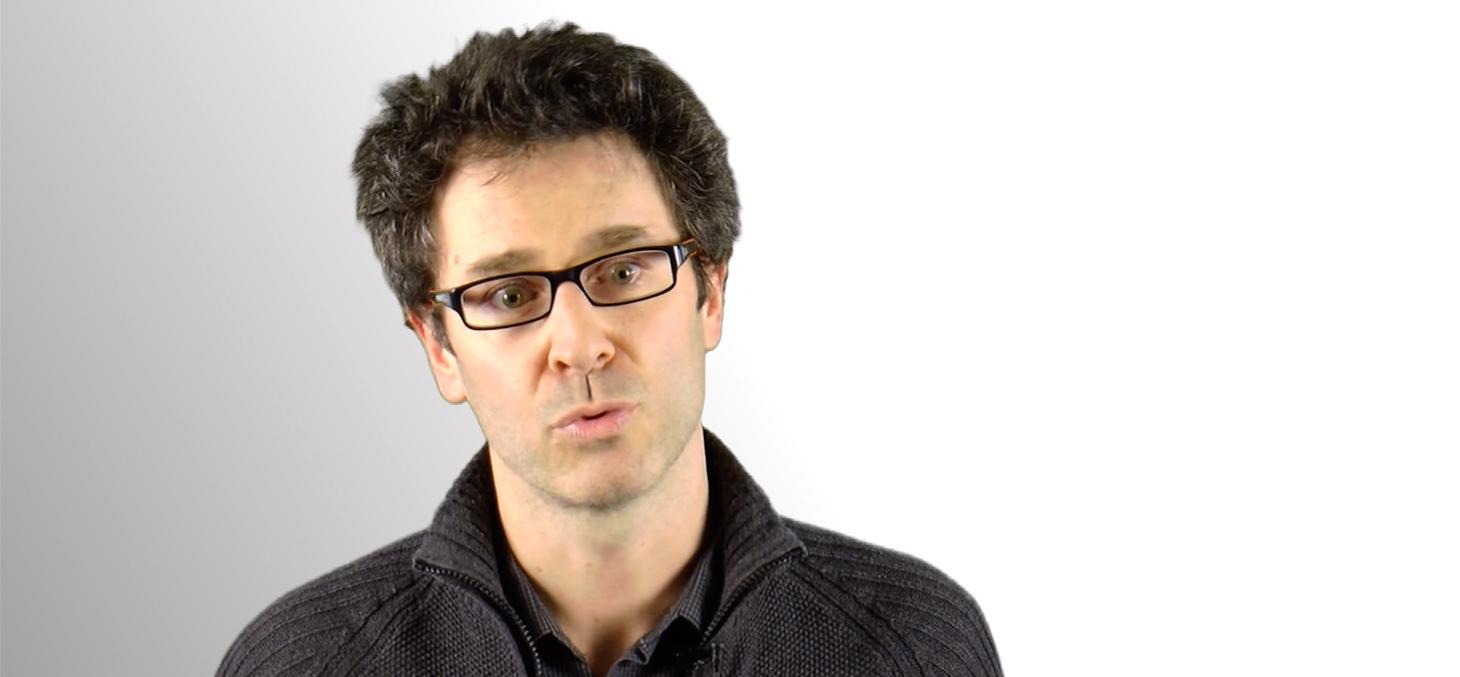 Damien Ricotier, responsable de la spécialité Géotechnique et Génie civil à Polytech Grenoble