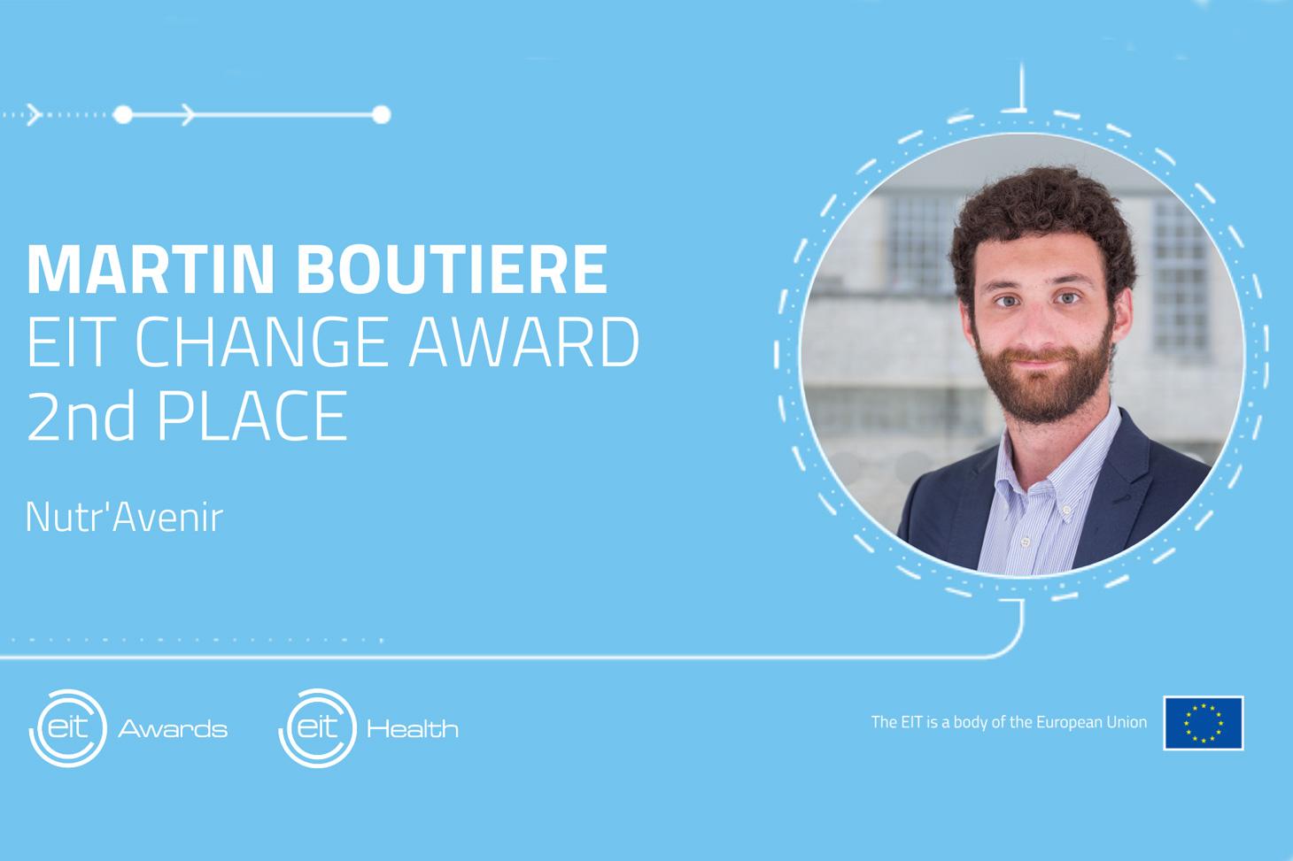 Doctorant au sein du Laboratoire de bioénergétique fondamentale et appliquée (LBFA - Inserm, UGA), Martin Boutière est le premier étudiant français à être distingué dans la catégorie