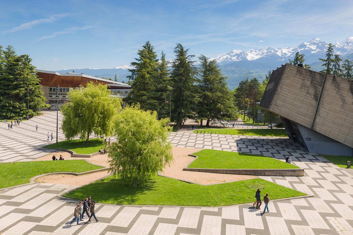 Le campus de Saint-Martin-d'Hères