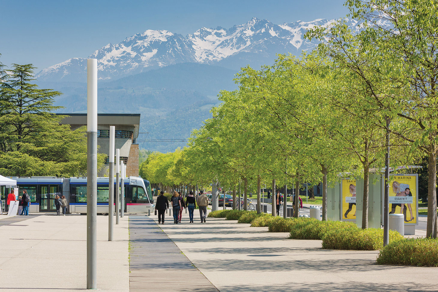 Le campus universitaire de Grenoble