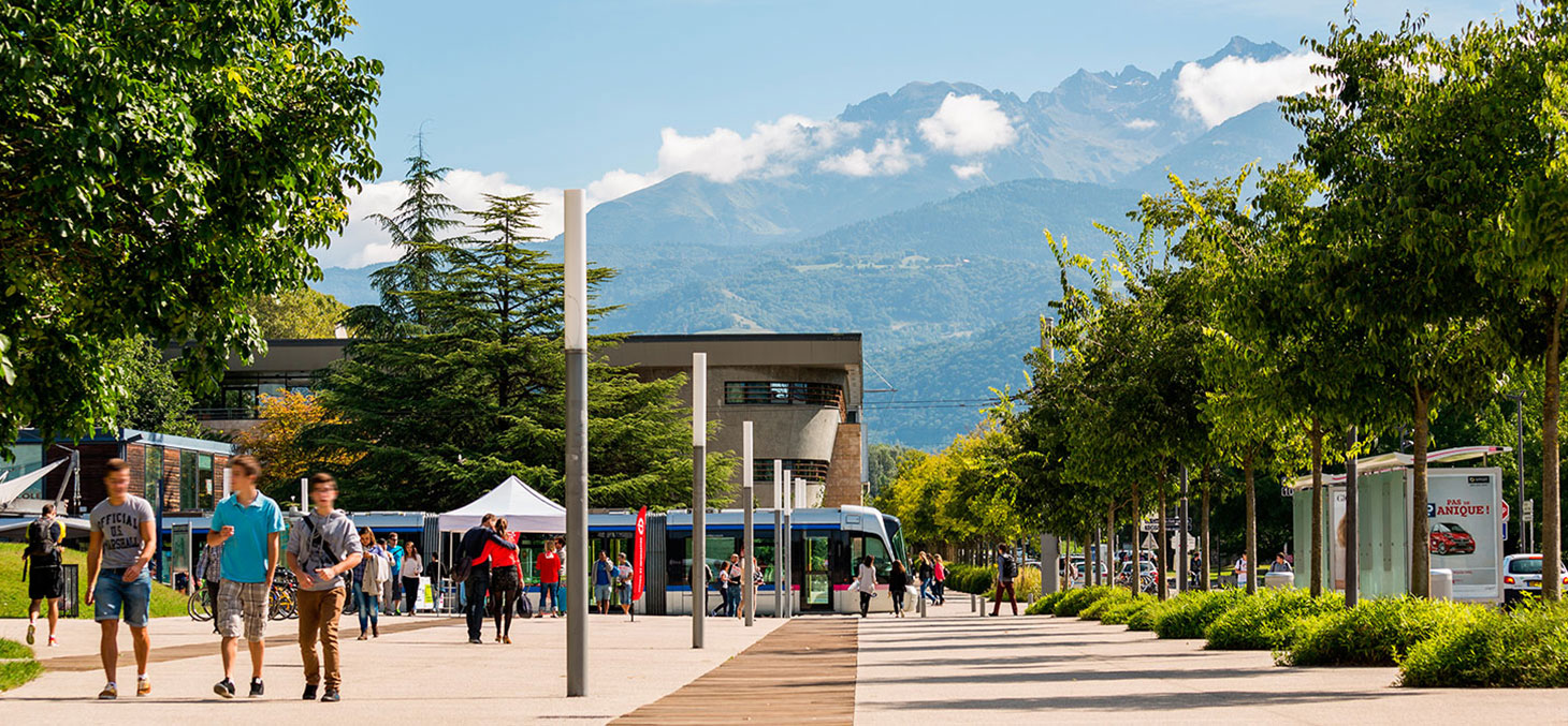 Le campus de Grenoble