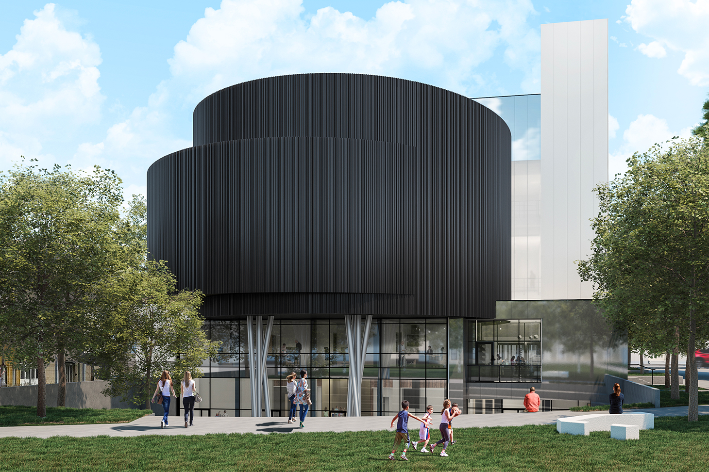 Le futur Centre de sciences - Moulins de Villancourt - Pont-de-Claix
