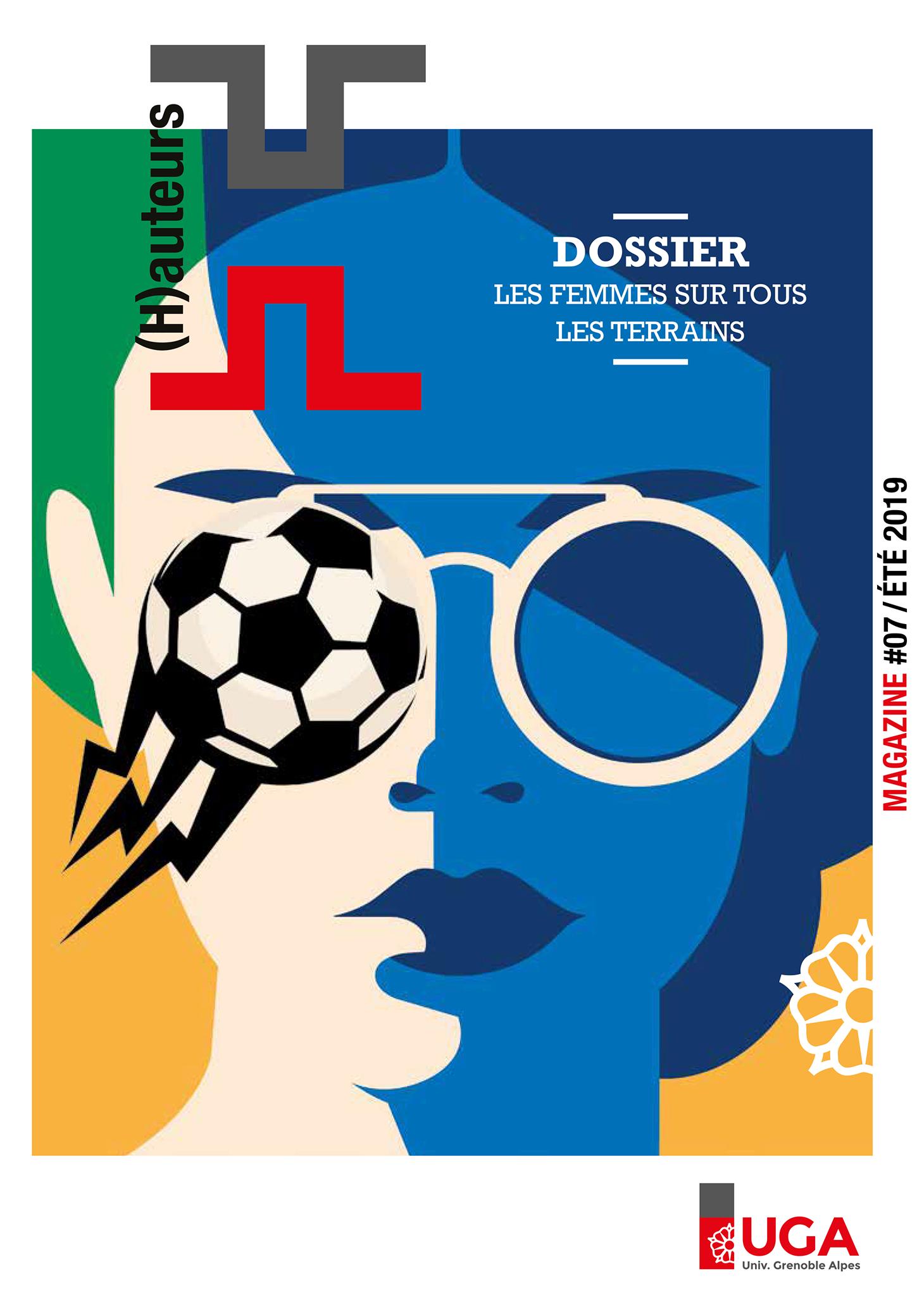 Couverture du numéro 7 du magazine (H)auteurs
