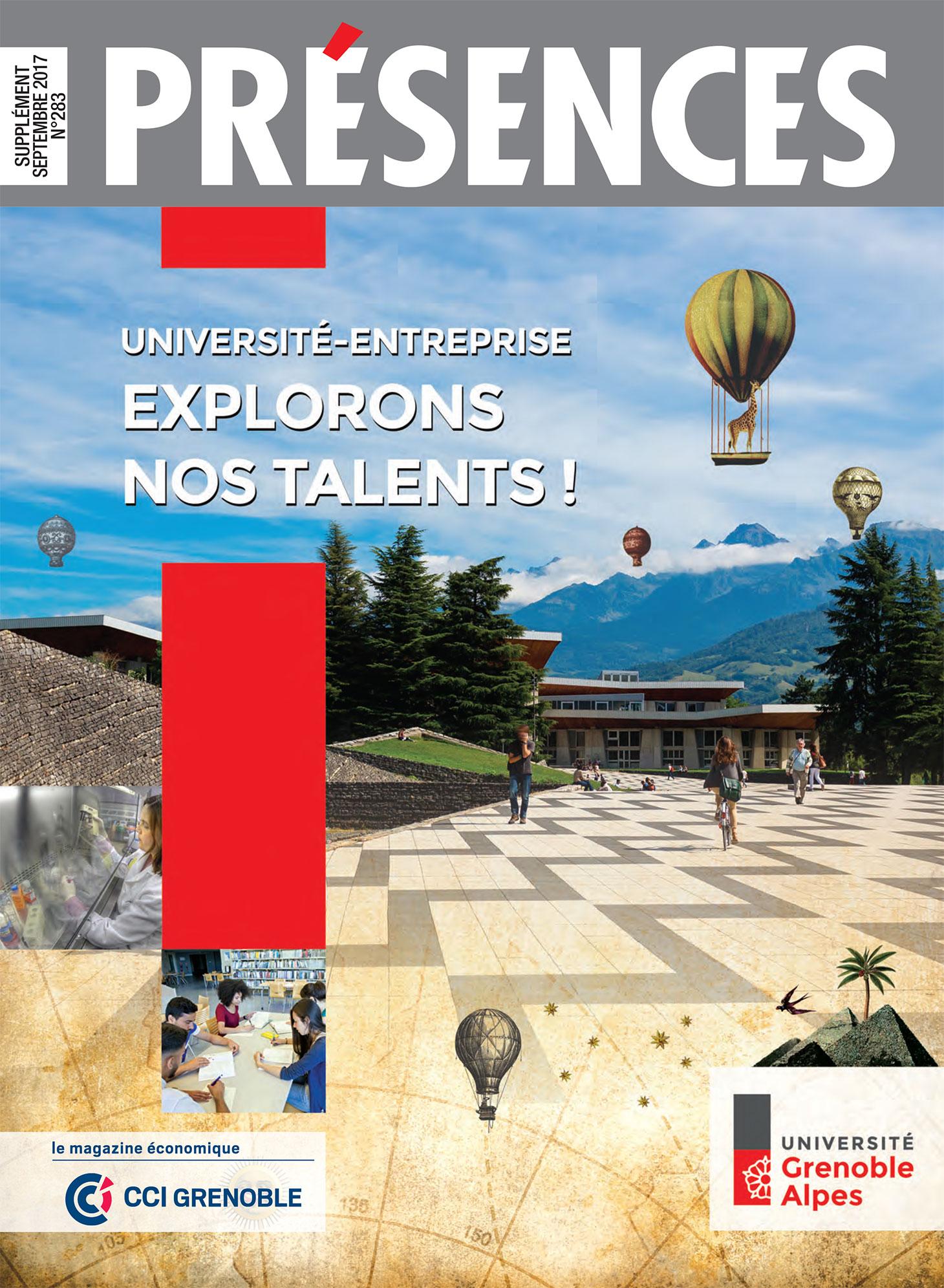 La couverture du magazine Présences