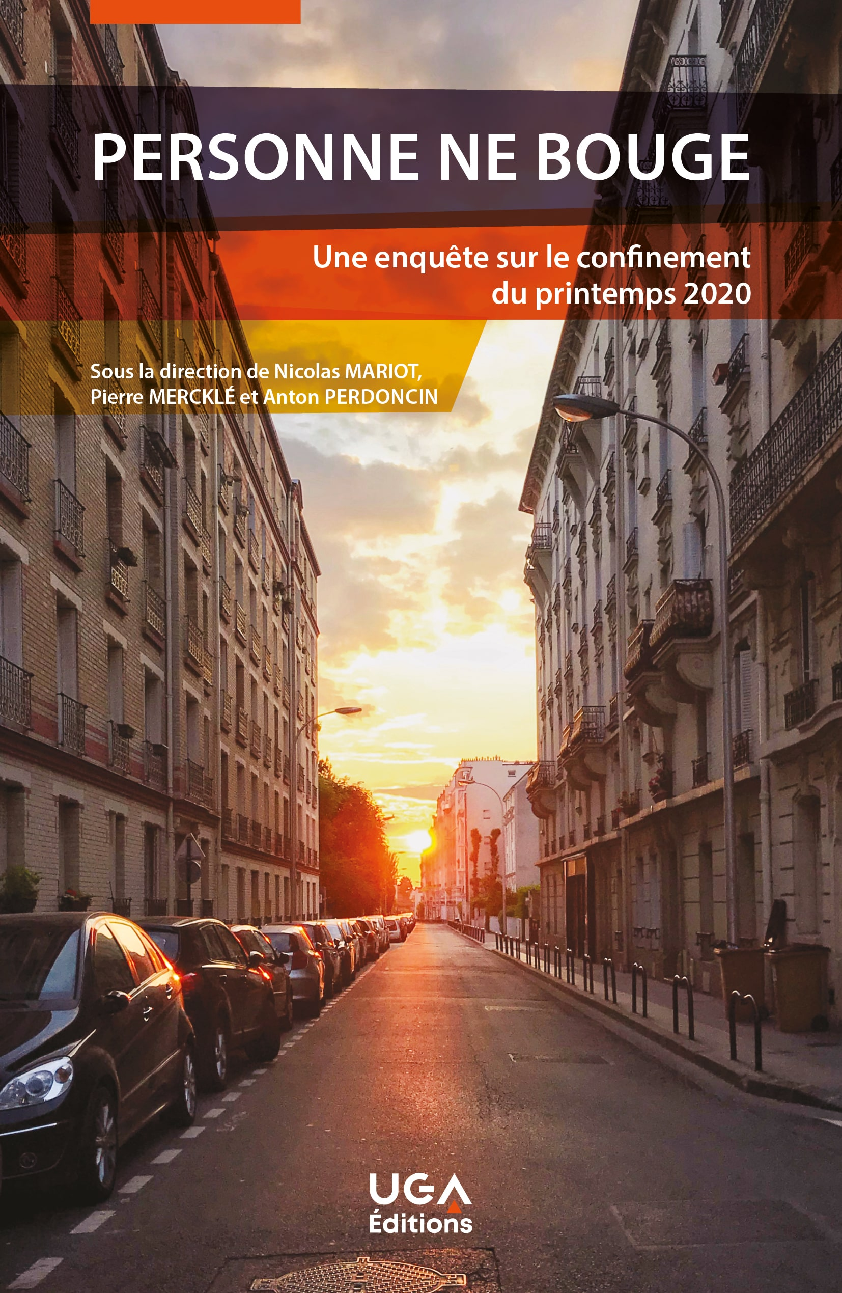 Couverture Personne ne bouge / UGA Editions