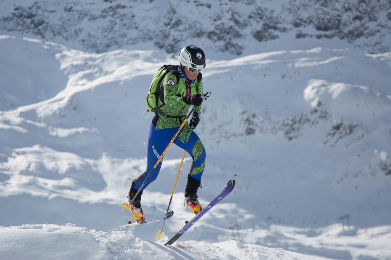 Étudiant en L1 STAPS et médaillé d'argent du relais mixte aux JO de la jeunesse en 2020, Bazil Ducouret a intégré cette année le CUFE Ski alpinisme © OKKOproduction.