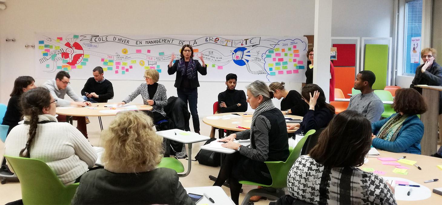 Ecole d'Hiver en Management de la Créativité