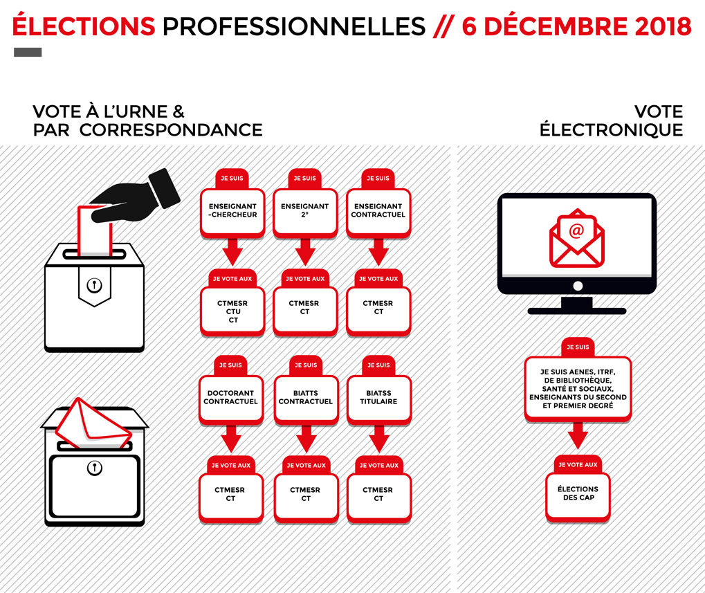 Élections pro 2018