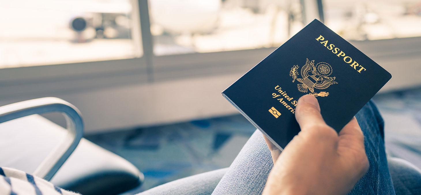 Le passeport d'un étudiant