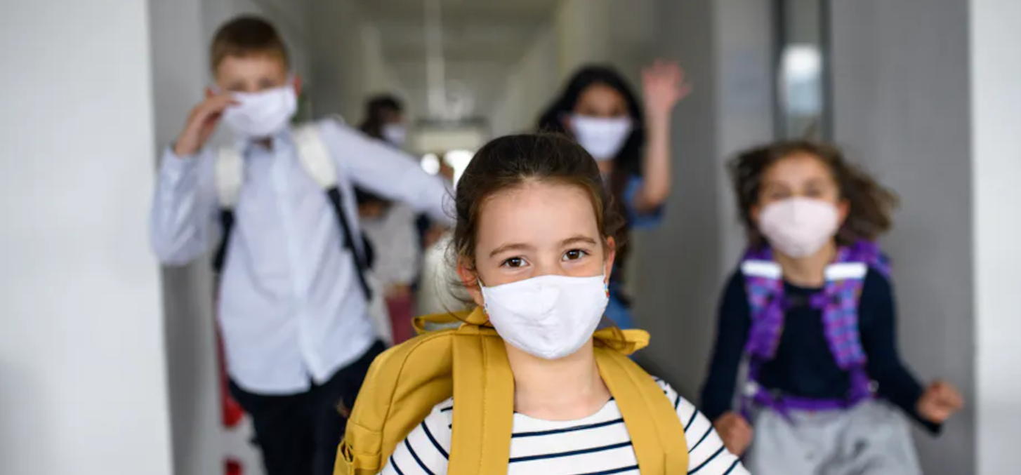 COVID-19 in the classroom: how to go back to school safely. Halfpoint/Shutterstock