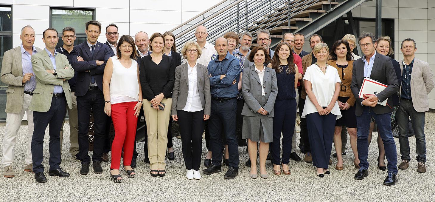 L'équipe de la Fondation Université Grenoble Alpes