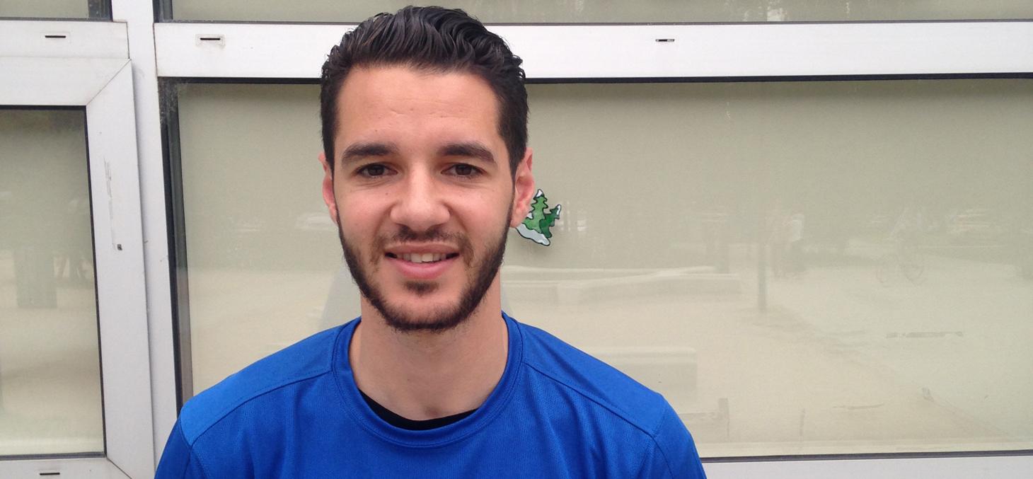 Mohamed Gallouze, 1è sélection en équipe de France U,
