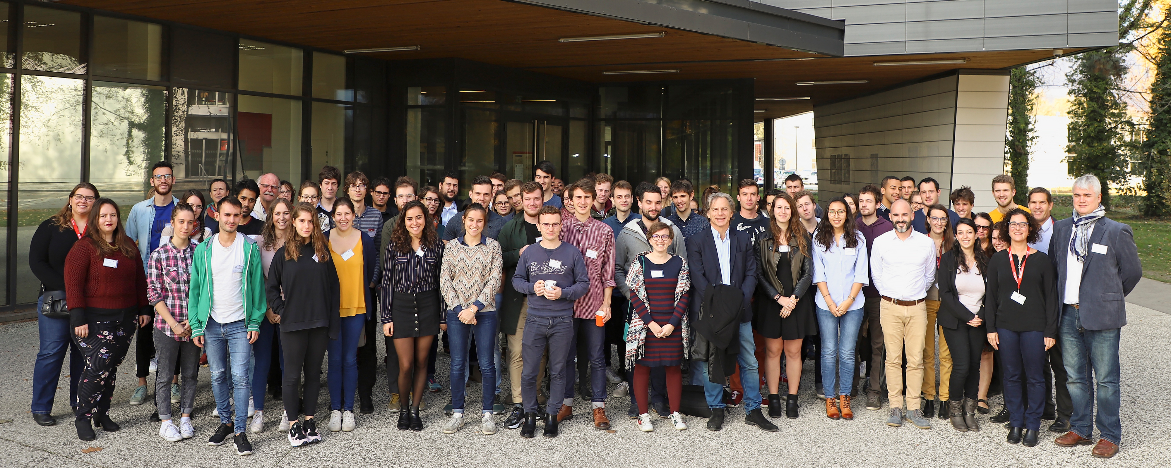 "Les participants au ""Grenoble iDays"" 2018"