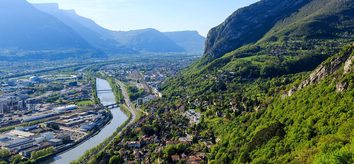 Grenoble et ses montagnes