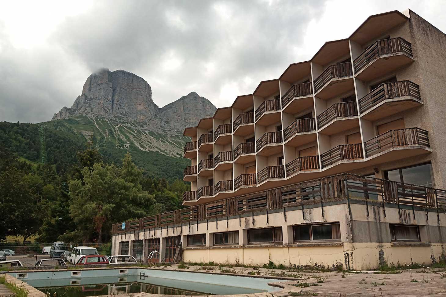 L'hotel de l'Arzellier © ENSAG