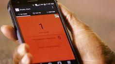 Alerte par smartphone © UC Berkeley / YouTube
