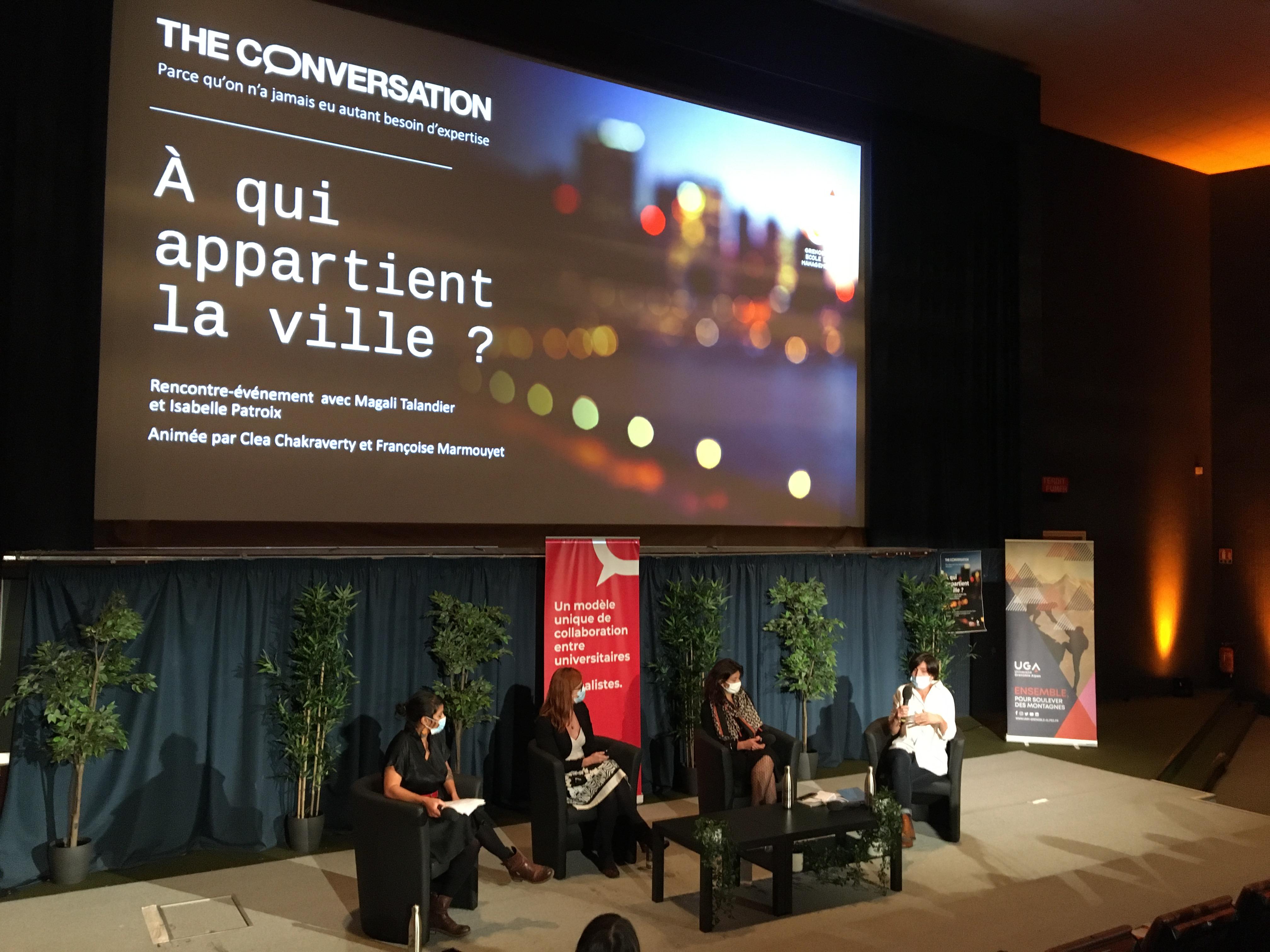 The COnversation fête ses 5 ans à Grenoble !