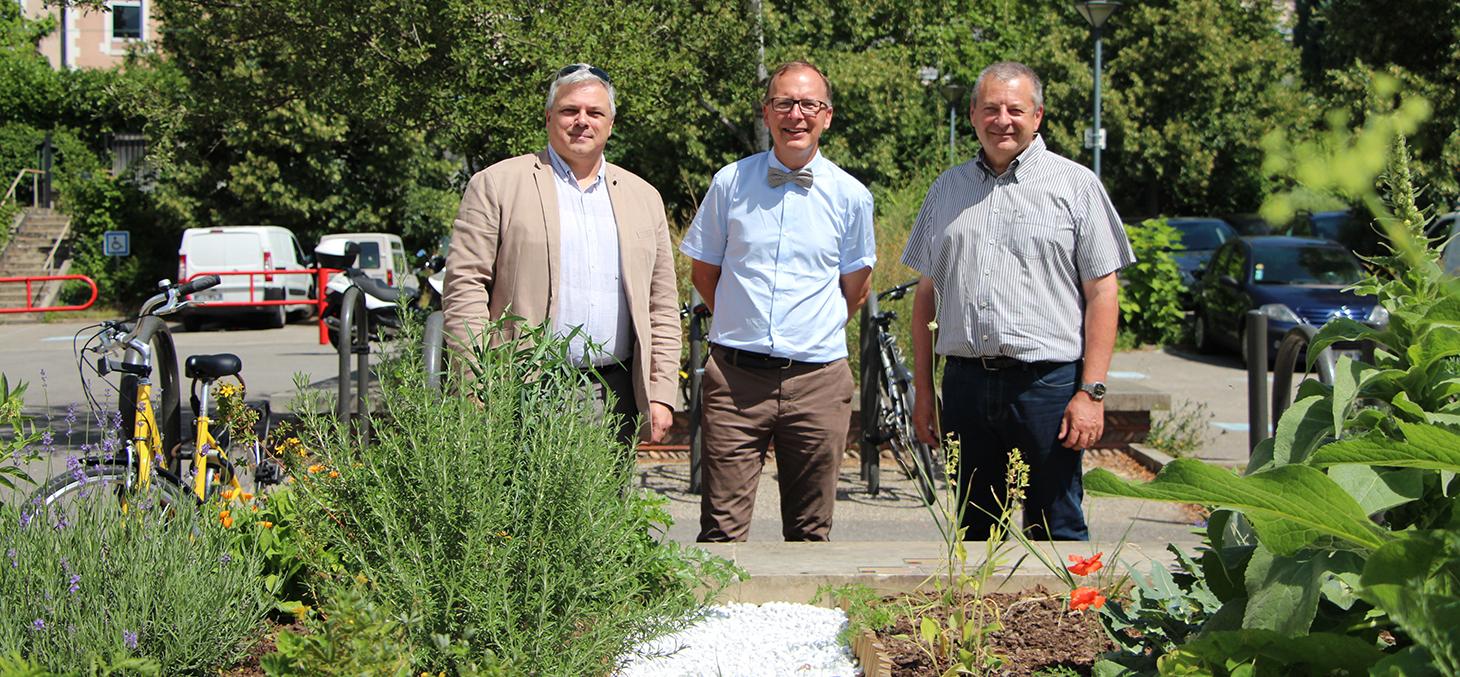 Inauguration du jardin médiéval des quatre humeurs - Jardin Dominique Villars - Juillet 2017