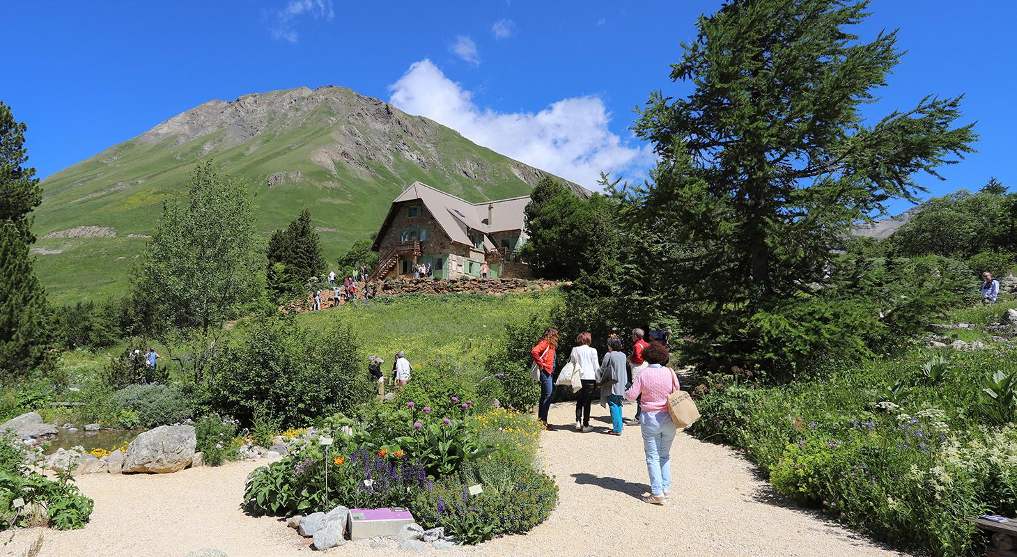 Visites guidées du jardin au pied du chalet Mirande