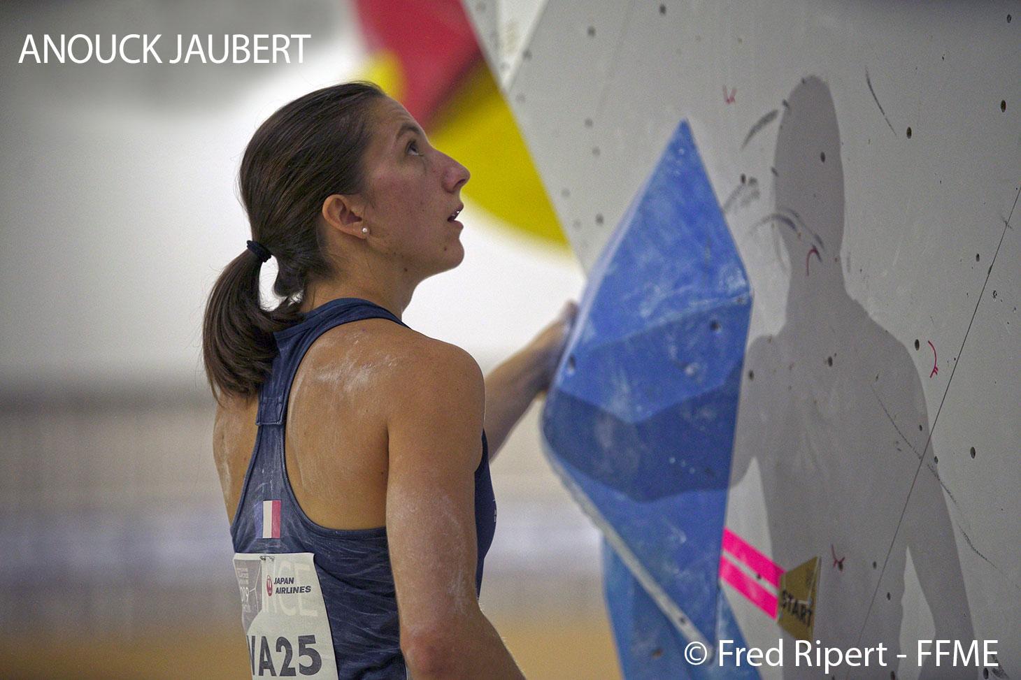 Anouck Jaubert, étudiante sportive de haut niveau à l'UGA