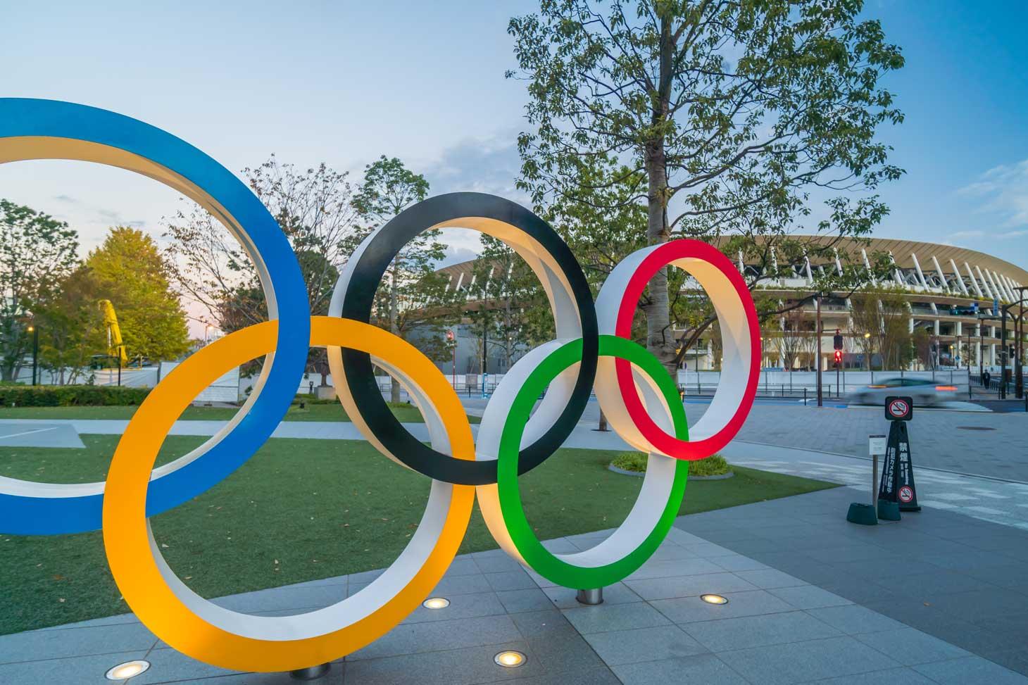 Vue du nouveau stade olympique national de Tokyo © Sutterstock