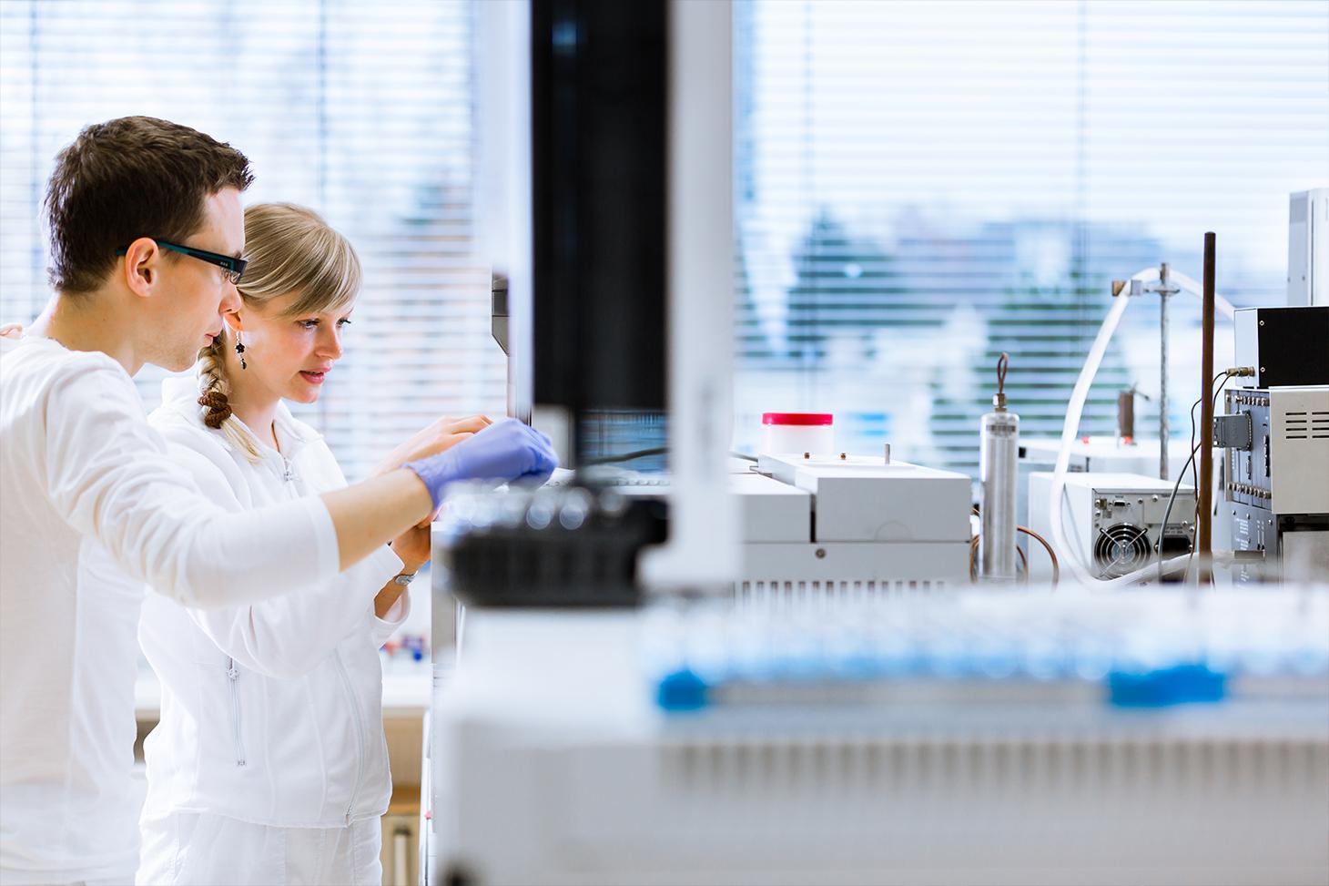 Un laboratoire de biologie
