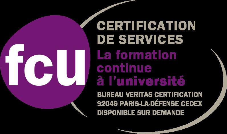 Logo certification FCU
