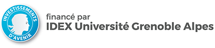 Logo de l'Idex Université Grenoble Alpes