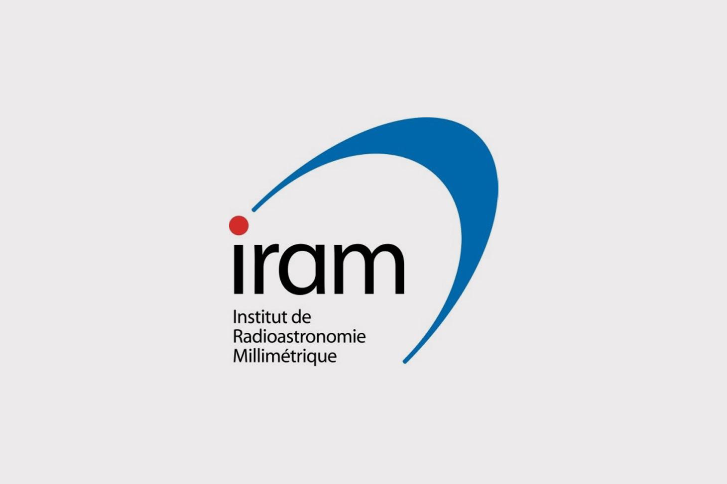 Logo Institut de radioastronomie millimétrique (IRAM)