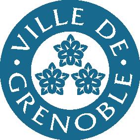 Logo ville de Grenoble couleur