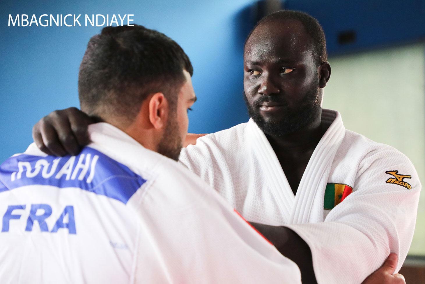 Mbagnick Ndiaye, étudiant sportif de haut niveau à l'UGA
