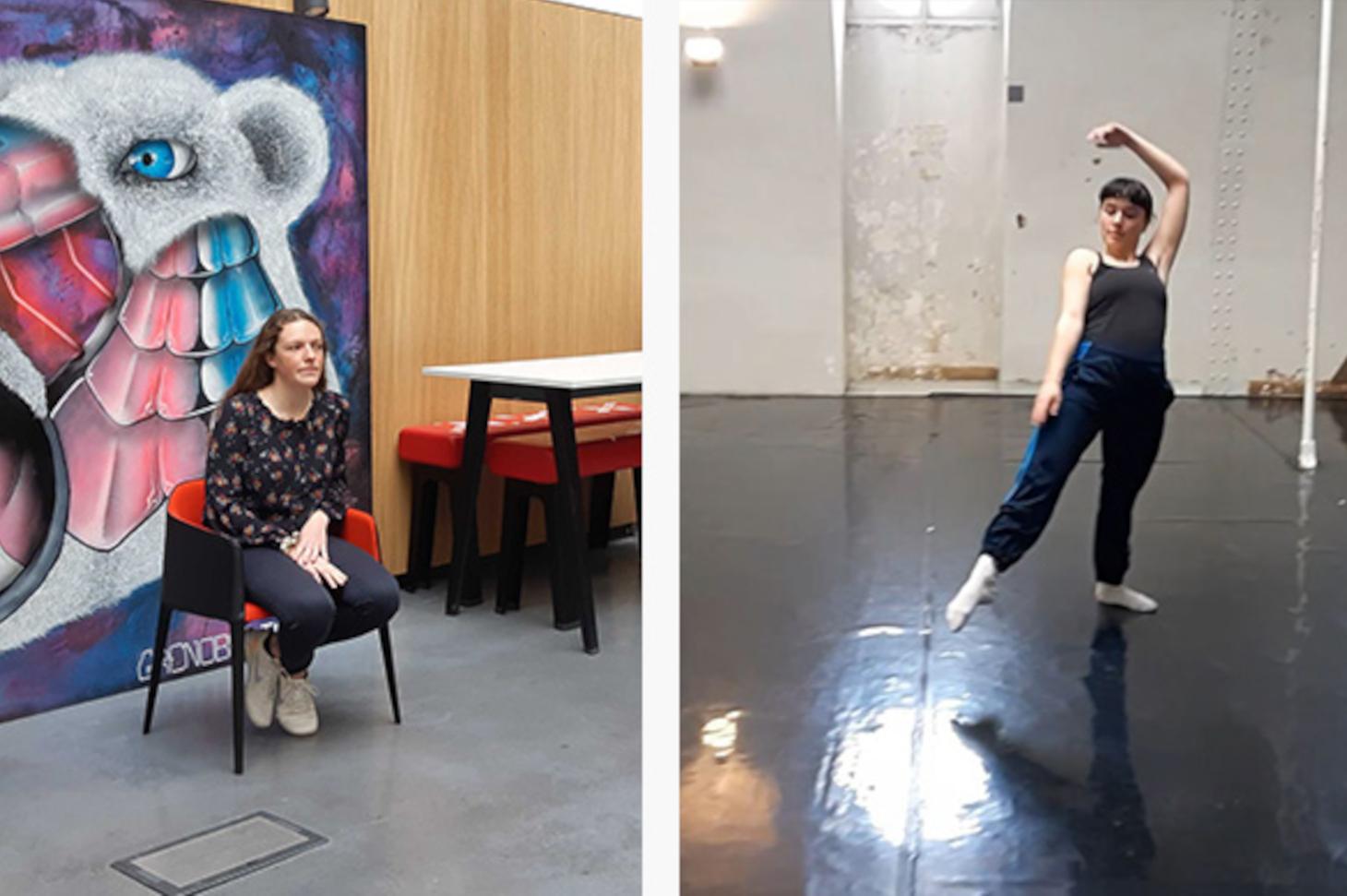 Olga Rouchouze et Lou Couston étudiantes artistes de haut niveau à Grenoble INP