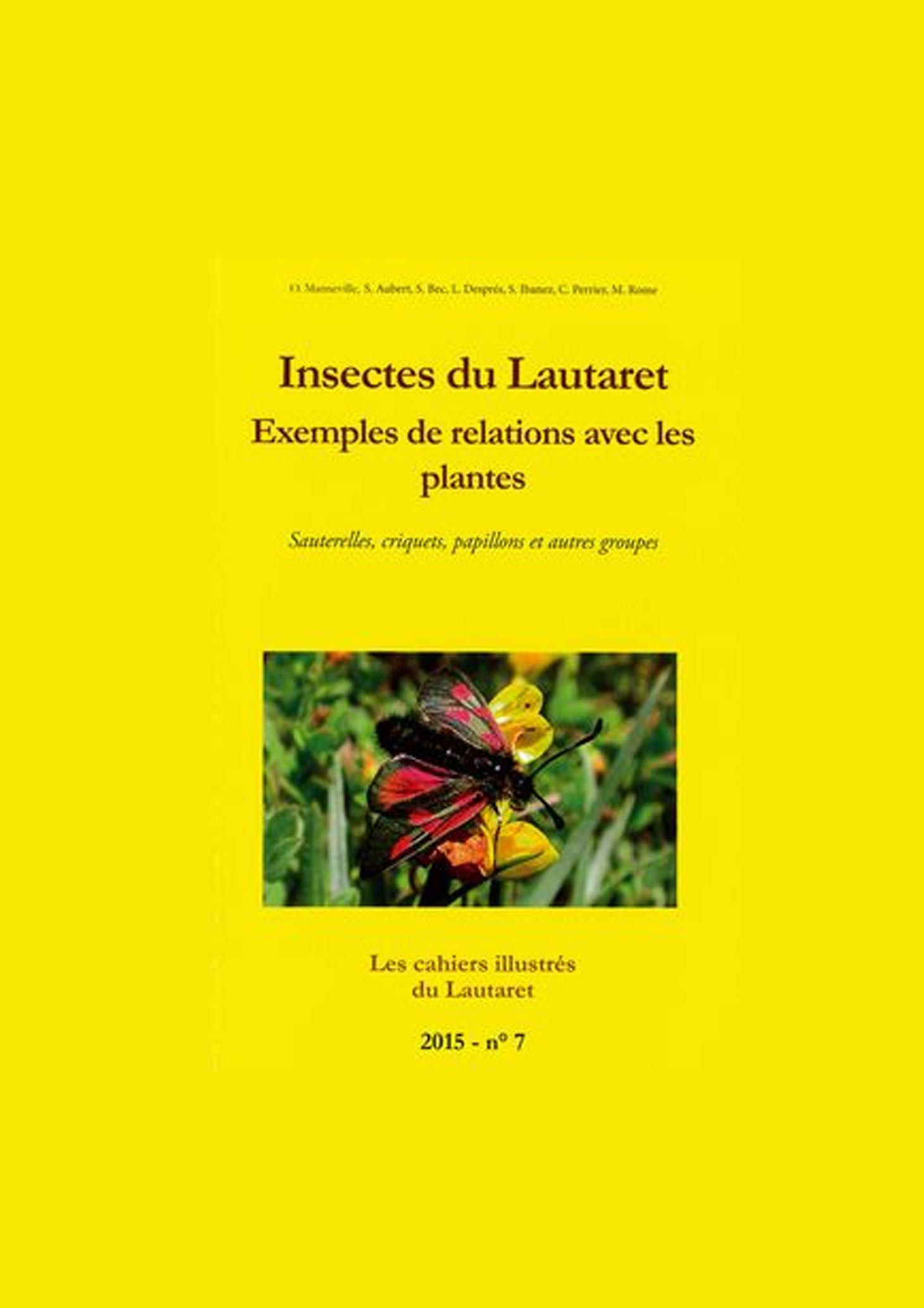 Insectes du Lautaret - Exemples de relations avec les plantes