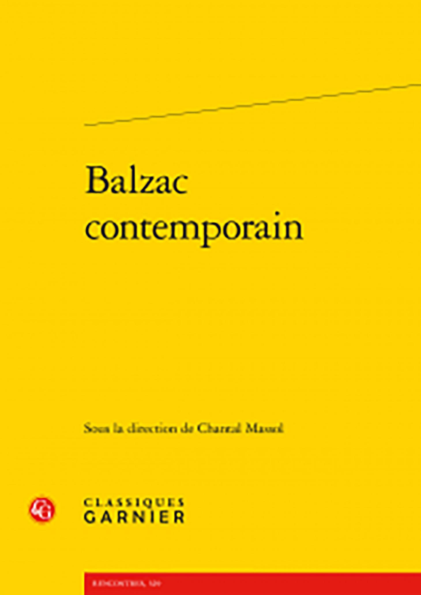 Balzac contemporain