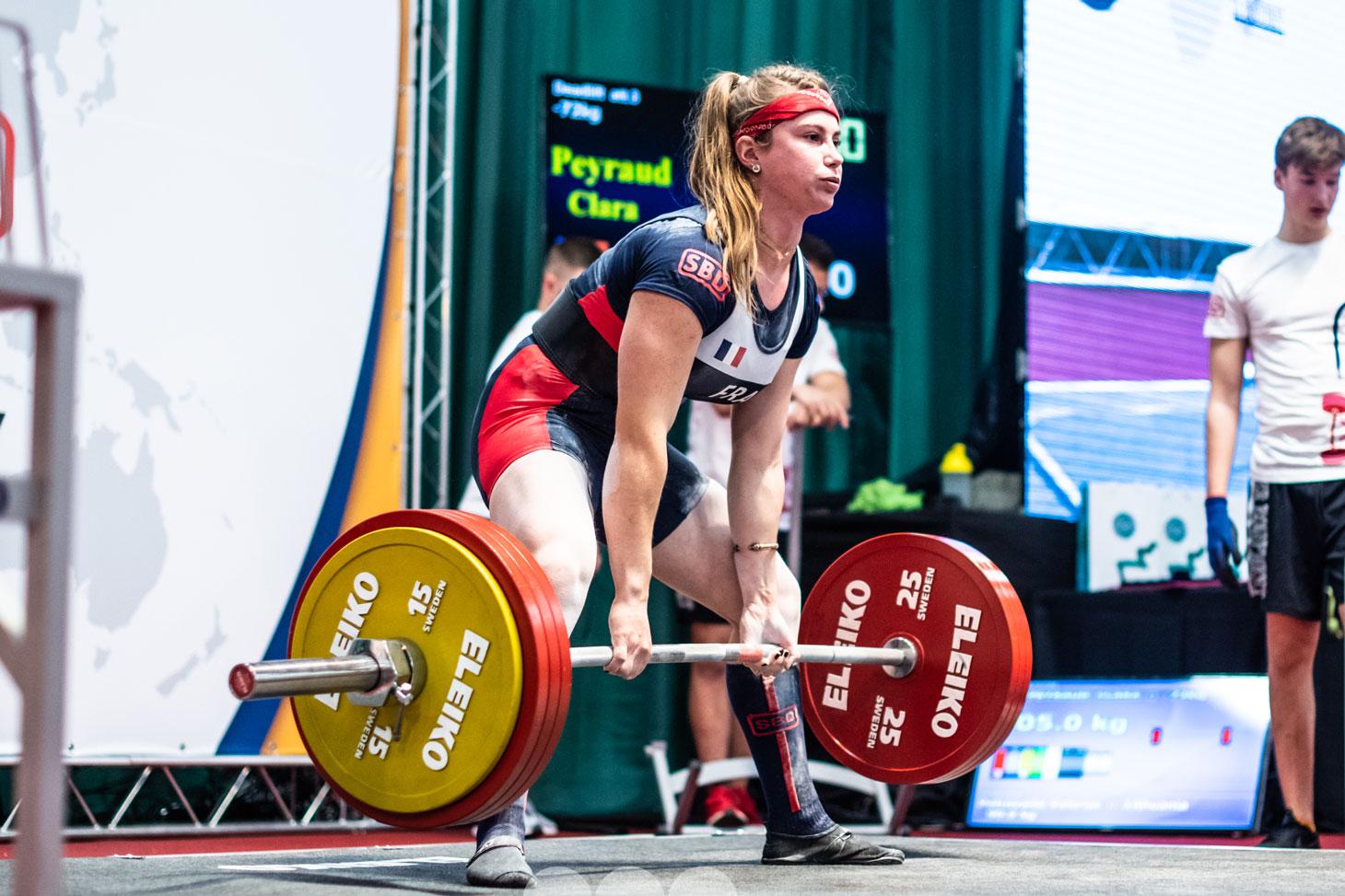 Clara Peyraud, étudiante sportive de haut niveau à l'UGA.
