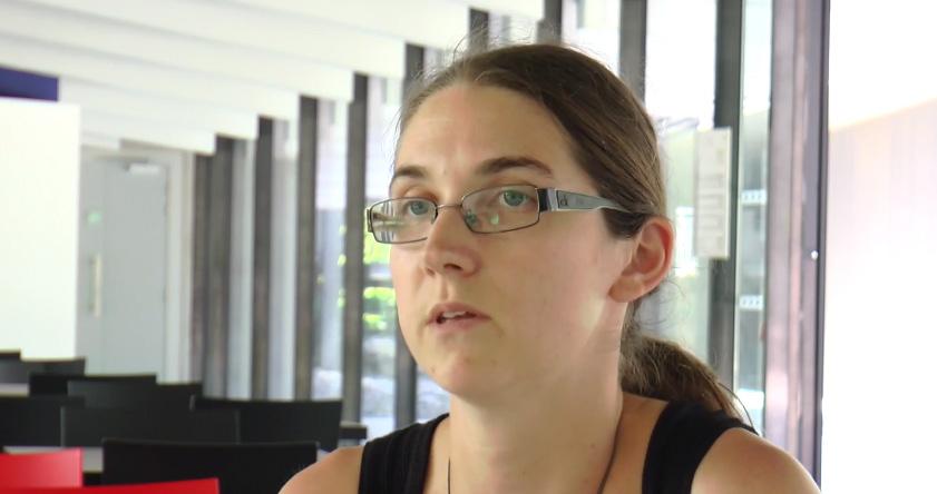 Sarah Rezenthel, enseignante en communication IUT1 UGA