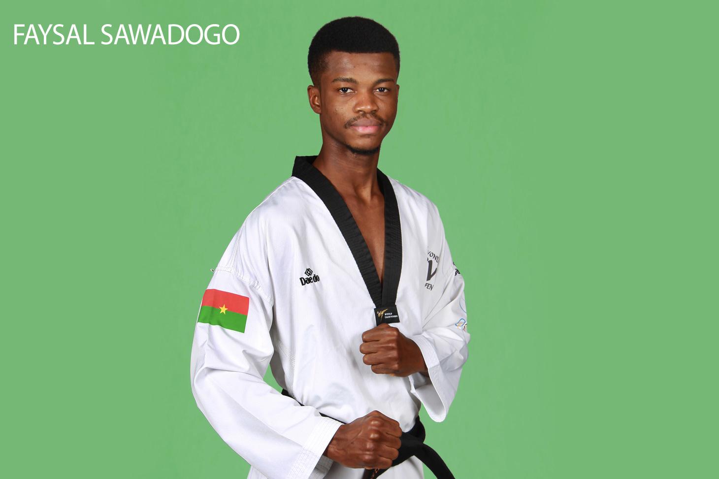 Faysal Sawadogo, étudiant sportif de haut niveau à l'UGA