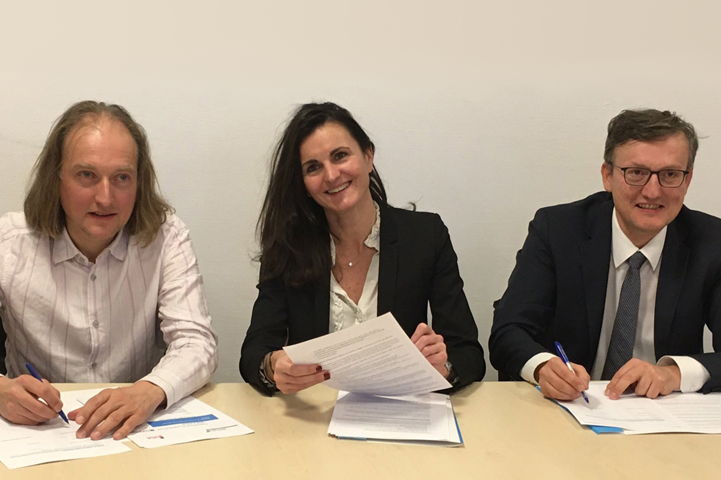 Signature de la convention de co-construction de l'outil ConPeRe le 12 décembre 2019 à la DGESIP